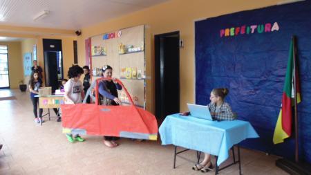 Teatro Contribuindo com a prática da Cidadania