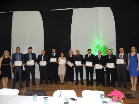 Prefeito,vice e vereadores eleitos no município foram Diplomados