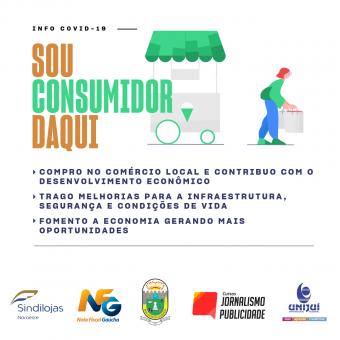CAMPANHA COM UNIJUÍ INCENTIVA VENDAS NO COMÉRCIO