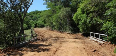 Ponte na Localidade de Formigueiro é concluída